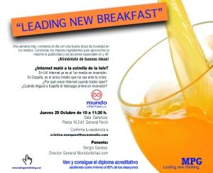 invitacion ponencia mundofertas- foro MPG  29 10 09