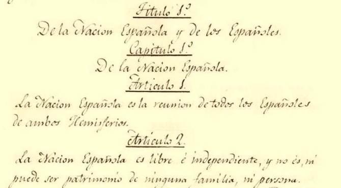 Consitución Española 1812