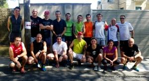 Salomon Suunto Twitter Trail Exchange. Foto equipo asistentes.