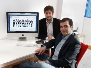 Inspiring Benefits: Directivos Javier Sanchez Reyes (CEO)  y Javier Diez Flaquer. (CTO)