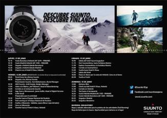 Programa Suunto Finlandia 13-16JUN 2013