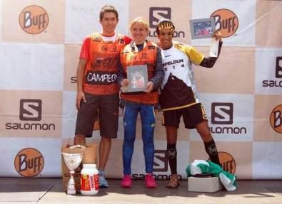 Campeones España: Manuel Merillas y Laia Andreu Campeón Camille Extreme: Zaid Ait Malek (Foto: Organización)