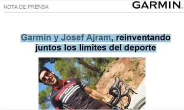 Garmin con Josef Ajram