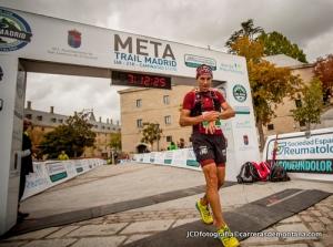 Trail Madrid 2014: Pedro ´Bianco entra campeón en meta.
