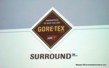 Gore Tex surround: llegada a tiendas marzo 2015.