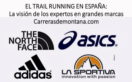Trail running en España, visto por  Adidas, Asics, La sportiva y The north face en Carrerasdemontana.com