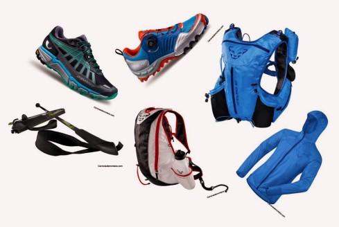 Dynafit Alpinrunning 2015: Zapatillas, ropa, mochilas y bastones.
