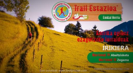 Estacion trail pais vasco: Inauguración próximo 14-15MAR.
