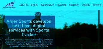 Amersports buys sportstracker to reinforce Suunto note amersports (3)