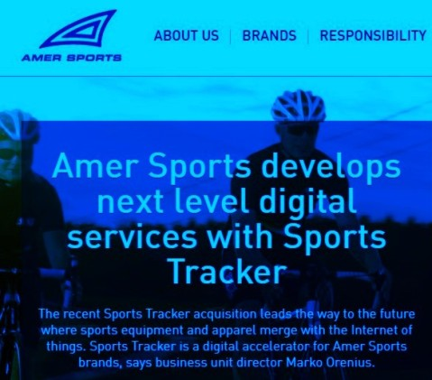 Amersports buys sportstracker to reinforce Suunto note amersports (4)